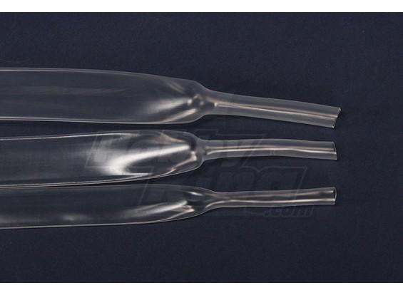 Turnigy encogimiento del calor de 20 mm de tubo transparente (1mtr)