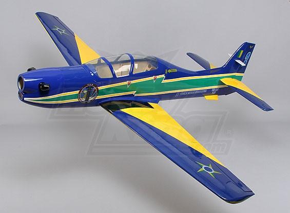 Embraer Tucano fibra de vidrio de w / Flaps 1650mm Glow (ARF)