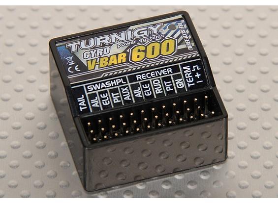 Turnigy V-Bar 600 Sistema Flybarless (v3)