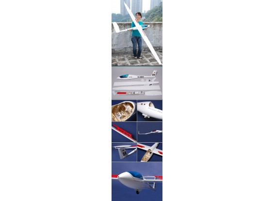 CMPro Ventus-2HX RC Escala Velero ARF