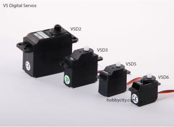 CIV-6 Digital Servo 6,0 g / .6kg / .10sec