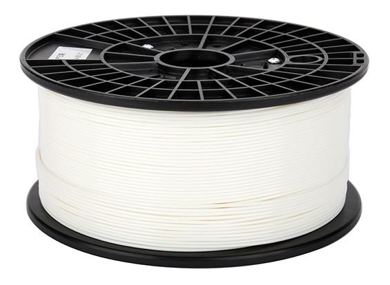 CoLiDo 3D Filamento impresora 1.75mm ABS 1kg de cola (blanco)