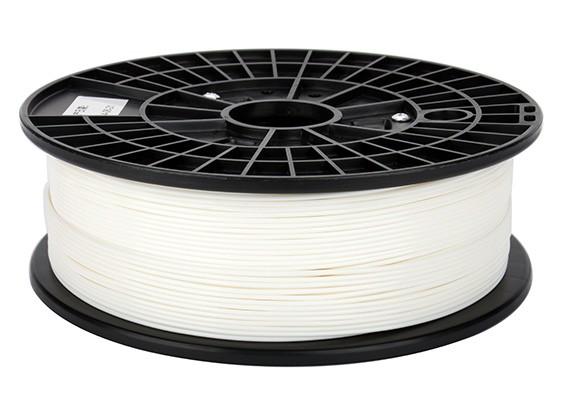 CoLiDo 3D Filamento impresora 1.75mm PLA 500 g de cola (blanco)