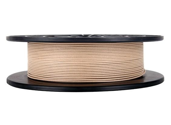 CoLiDo 3D Filamento impresora 1.75mm PLA 500G Carrete (Madera)
