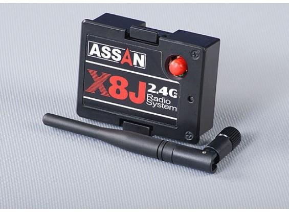X8J 2,4 GHz Módulo JR