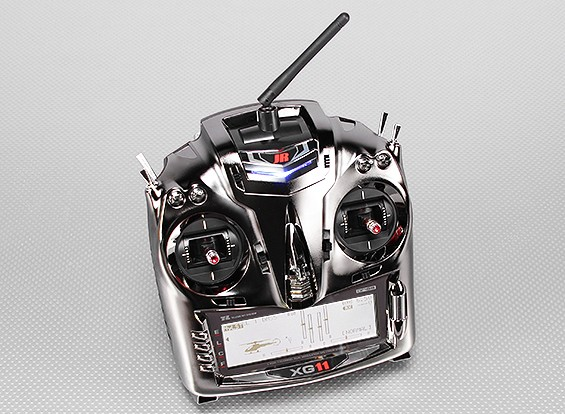 JR XG11 11-Channel Transmisor DMSS de 2,4 GHz w / RG1131B receptor (Modo 1)