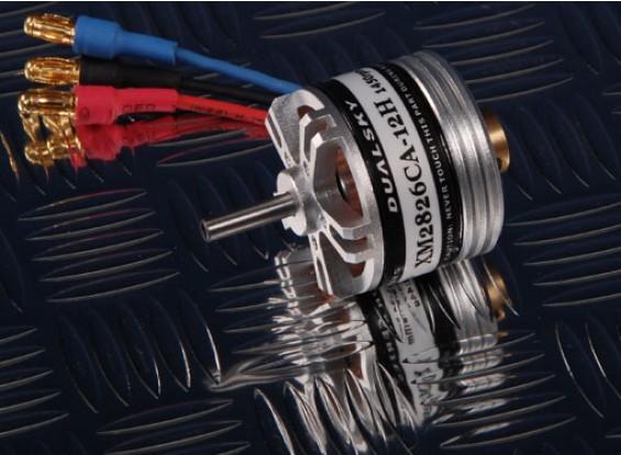 XM2826-12H Dualsky XMotor eje hueco