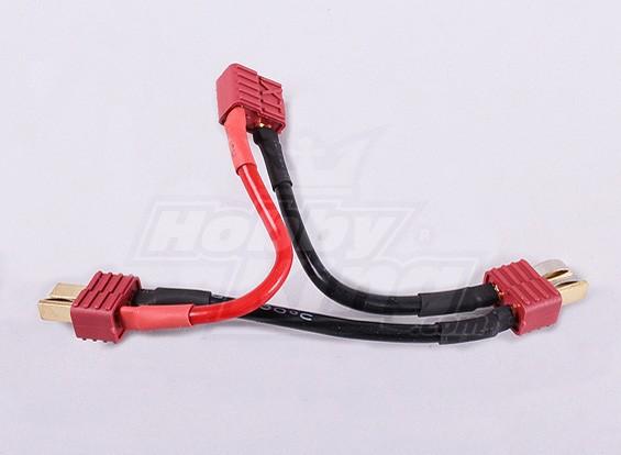 T-Conector de cables para 2 paquetes en serie (1 unidad)