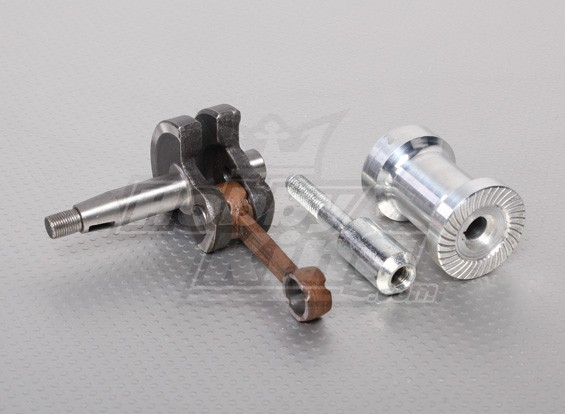 XYZ Crank, Pin y kit de Boss Prop, Número de pieza del motor 4 y 11 y 12 (26cc)