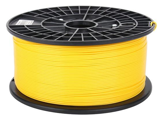 CoLiDo 3D Filamento impresora 1.75mm PLA 1kg Carrete (amarillo)