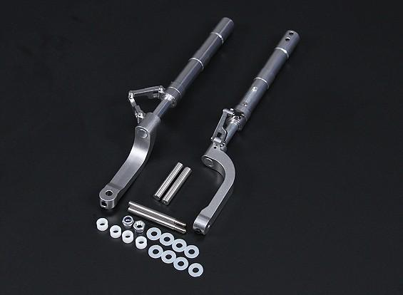 Las piernas de la aleación del estilo de Oleo Offset Cero 168mm 2pc