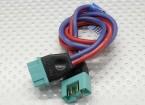 PowerBox MPX - Cable de extensión macho / hembra de 30 cm de alambre de 1,5 mm