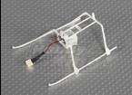 Solo Pro Frame FP II resbalón de aterrizaje y batería w / conector