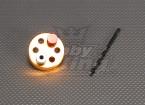 CNC de perforación plantilla Set_6M (Drill: 5,1 mm) Oro