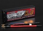 Turnigy nano-tech 5300mAh 2S2P 30 ~ 60C Lipo Pack de Hardcase (ROAR APROBADO)