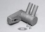 Pitts silenciador para motor de gas 15cc