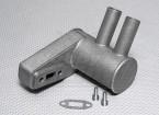 Pitts silenciador para motor de gas 20cc