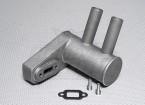 Pitts silenciador para motor de gas 26cc