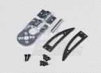Turnigy Talon montaje del motor V2 / Landing Gear Set