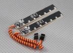 En Sistema de neón del LED del cuerpo (blanco) (2pcs / bolsa)