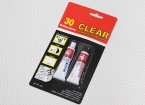 EV830 / 20G 30 Min cura de epoxy clara pegamento