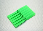 GWS EP hélice (DD-4025 102x64mm) verde (6pcs / set)
