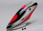 Turnigy High-End de la fibra de vidrio del pabellón de Trex / HK 550E