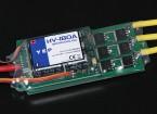 HobbyKing YEP 180A HV (4 ~ 14S) regulador de la velocidad sin escobillas (OPTO)