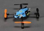 Q-BOT Micro Quadcopter w / RF de 2,4 GHz Módulo (Spektrum / JR / Futaba compatible)