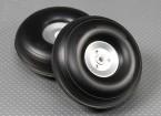 90 mm (3,5 pulgadas) de peso ligero de aleación de Montaje de la rueda Escala (2 piezas)