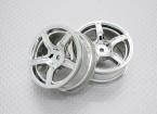 Escala 1:10 alta calidad Touring / deriva de las ruedas del coche RC de 12 mm Hex (2 piezas) CR-C63C