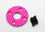 Motor de aluminio CNC disipador de calor de 36 mm (púrpura / rojo)