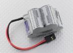 Serie de alta potencia Turnigy receptor Joroba Pack 2 / 3A 6.0V 1500mAh NiMH