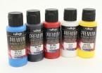 Vallejo Color Superior pintura acrílica - Selección Opaco Básico (5 x 60 ml)