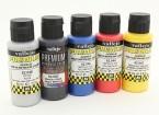 Vallejo Color Superior pintura acrílica - Selección de color metálico (5 x 60 ml)