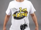 """""""Soy el rey 'de la camiseta HobbyKing (grande) - Devolución Oferta"""
