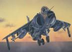Kit de Italeri 1/72 Escala Mar Harrier FRS.1 Modelo Plástico