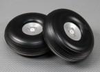126 mm (5 pulgadas) de peso ligero de aleación de Montaje de la rueda Escala (2 piezas)