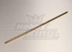 Latón del eje de propulsión de la manga de 6 mm x 300 mm (1 unidad)