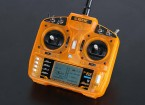 OrangeRx T-SEIS 2,4 GHz DSM2 Compatible transmisor 6CH w / 10 Memoria del modelo y de Switch 3-Pos (Modo 2)
