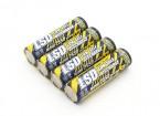 Turnigy 2550mAh batería recargable NiMH AA (4 piezas)
