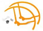 8 pulgadas de plástico universal multi-rotor hélice Guardia - Amarillo (2set)