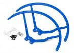 9 pulgadas de plástico universal multi-rotor hélice Guardia - Azul (2set)