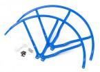 10 pulgadas de plástico universal multi-rotor hélice Guardia - Azul (2set)