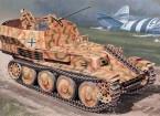 Italeri 1/35 Escala Kit alemán Sd.Kfz.140 Flakpanzer 38 Gepard Modelo Plástico