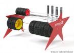TrackStar 1/10 y 1/8 Tire Rack