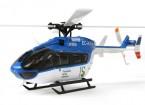 K124 RTF Escala 3D 6CH Helicóptero Eurocopter (Futaba compatible FHSS)