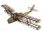 De Havilland Tiger Moth dh82a biplano 1400mm cortado con láser Balsa (Kit)