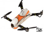 RJX CAOS 330 FPV que compite con aviones no tripulados Combo w / del motor, ESC y del regulador de vuelo (naranja)