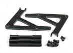 BSR 1000R de pieza de repuesto - soporte opcional de fibra de carbono de bicicletas